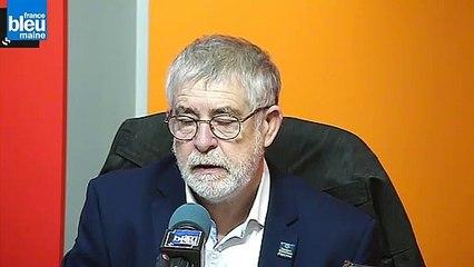 Didier Hanotaux, président du secours catholique de la Sarthe