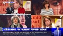 """Sur BFMTV, la réalisatrice Coline Serreau accuse Alain Delon de """"frapper les femmes"""" et d'avoir """"voulu sauter Marie Laforêt"""""""
