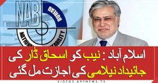 NAB gets permission to auction Dar's assets