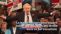 Boris Johnson lance sa campagne à Birmingham la travailliste
