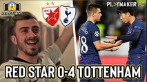 Reactions | Red Star 0-4 Tottenham: New signings start together for first time