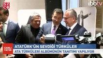 İmamoğlu 'ATA Türküleri' albümünün tanıtımını yaptı