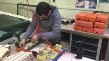 Bruxelles - Sesame, la boîte à clés produite à l'atelier l'Ouvroir en recyclant les anciens oblitérateurs de la STIB (vidéo Germani)