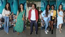 Janhvi kapoor, Sara ali khan, Varun Dhawan, Shraddha kapoor and others at a special screening of Bala