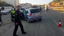 Adıyaman'da trafik kazası2 yaralı