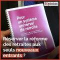Réserver la réforme des retraites aux seuls nouveaux entrants ? Jean-Paul Delevoye réaffirme son opposition