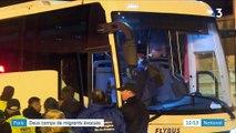 Paris : évacuation d'un camp de1600migrants