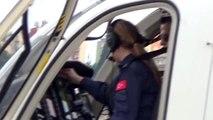 Adana'da helikopterli denetimde 48 sürücüye 10 bin 849 lira ceza