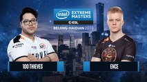 CSGO - 100 Thieves vs. ENCE [Train] Map 2 - Group A - IEM Beijing-Haidian 2019