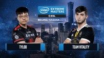 CSGO - Team Vitality vs. TYLOO [Dust2] Map 2 - Group B - IEM Beijing-Haidian 2019