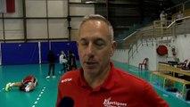 Christophe Charroux et Jeremy Slih avant Mende Martigues Volley