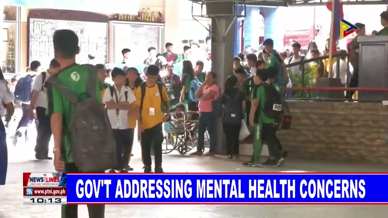 Government addressing mental health concerns