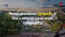 Macron abandonne Europacity et veut « réfléchir » à un projet « alternatif »