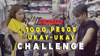 Ukay-ukay Php1000 Challenge | Chan and Sassa