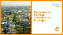 Europacity : l'Élysée abandonne le projet