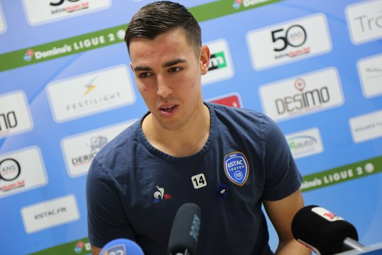 "Nancy-Estac Dylan Chambost : ""On s'attend à un gros match"""