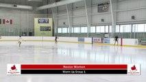 2020 Skate Ontario Sectionals - Novice Women - Short Program (Skaters 1 - 15)