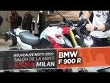 BMW F 900 R - nouveautés moto 2020 - EICMA 2019