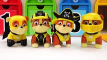 Paw Patrol Wrong Surprise Cups and Toys, Learn Colors and Shapes with Top Wing Toy Vehicles