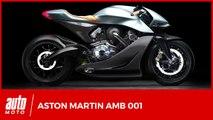 1ère moto Aston Martin AMB 001 au salon de Milan 2019