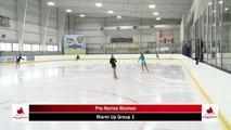 2020 Skate Ontario Sectionals - Pre-Novice Women - Short Program (Skaters 1 - 15)