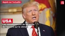 USA: quelles peuvent être les conséquences de la sortie de l'accord sur le climat ?