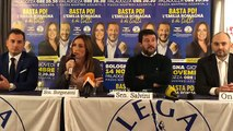 Salvini da Bologna con Lucia Borgonzoni (07.11.19)