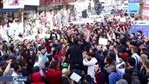 """مظاهرات في إدلب ضد """"هيئة تحرير الشام"""" و""""حكومة الإنقاذ"""""""