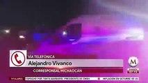 Comando armado ataca a policías de Michoacán