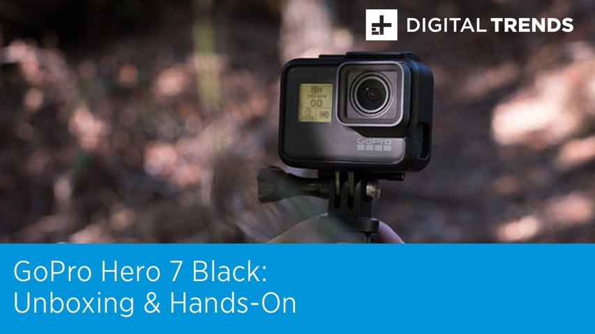 GoPro Hero 7 Black Unboxing and Hands-On