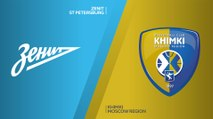 Zenit St Petersburg - Khimki Moscow regionHighlights | Turkish Airlines EuroLeague, RS Round 7