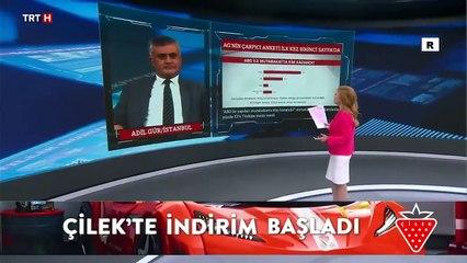 Adil Gür'ün çarpıcı anketi ilk kez TRT Haber'de