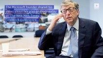 Elizabeth Warren Offers to Explain Wealth Tax Plan to Bill Gates