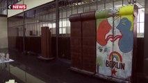 Le mur de Berlin version chocolat se prépare à tomber