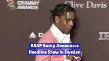 The Update On ASAP Rocky And Sweden