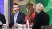 'The View' Melts Down During Donald Trump Jr., Kimberly Guilfoyle Visit | THR News