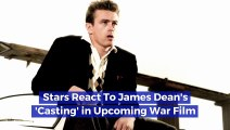 Stars React to James Dean's 'Casting' in Upcoming War Film