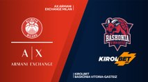 AX Armani Exchange Milan - KIROLBET Baskonia Vitoria-Gasteiz  Highlights |EuroLeague, RS Round 7