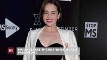 Emilia Clarke And Her Previous Health Scare