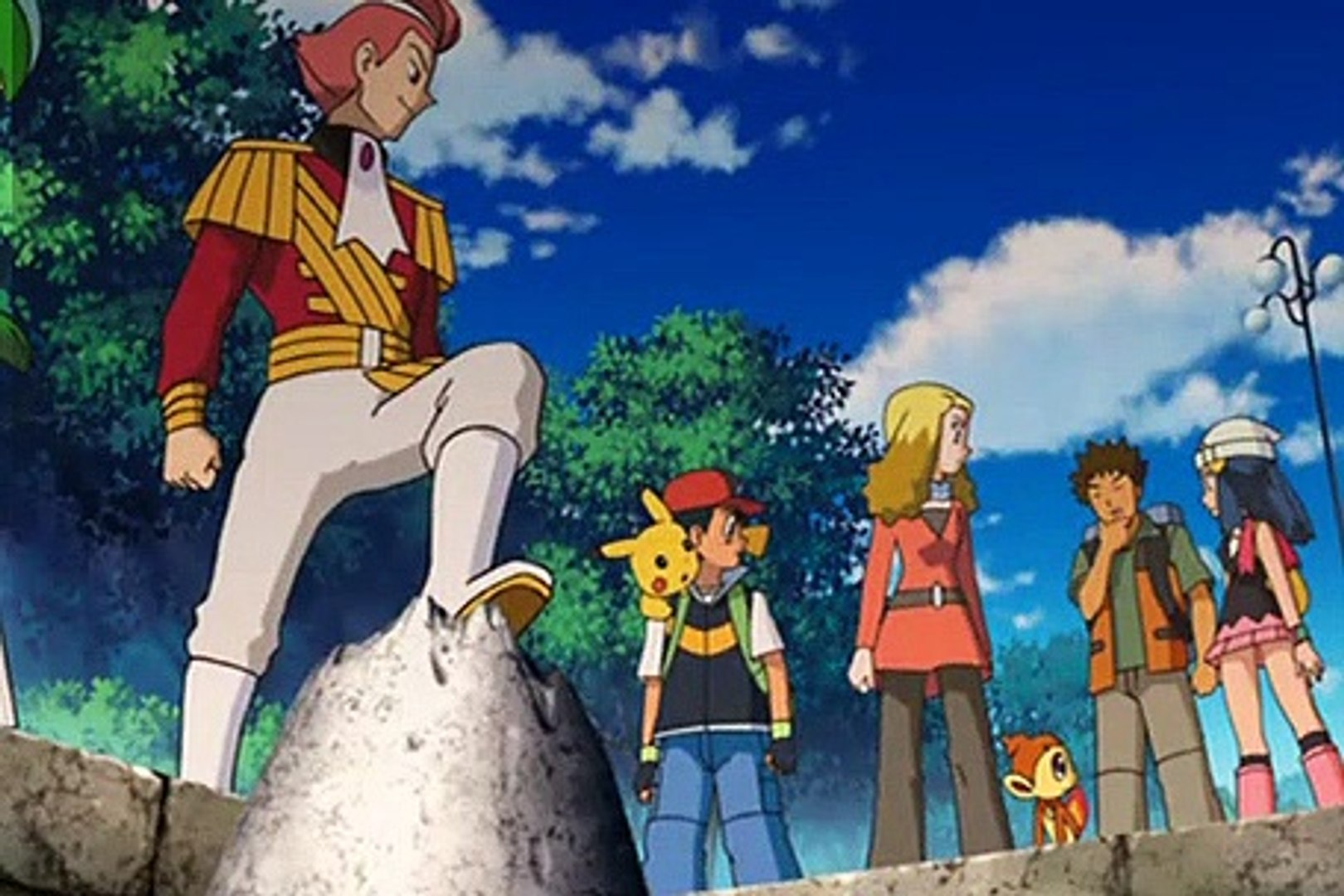 Pokemon S10m01 The Rise Of Darkrai Japanese Credits 2007 360p Re Dvdrip Part 1 2 Video Dailymotion