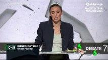 """Minuto de oro de Irene Montero (UP): """"Mi generación os ha escuchado, cogemos el testigo y vamos a seguir luchando"""""""
