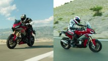 The all-new BMW Motorrad F 900 XR and the new BMW Motorrad S 1000 XR