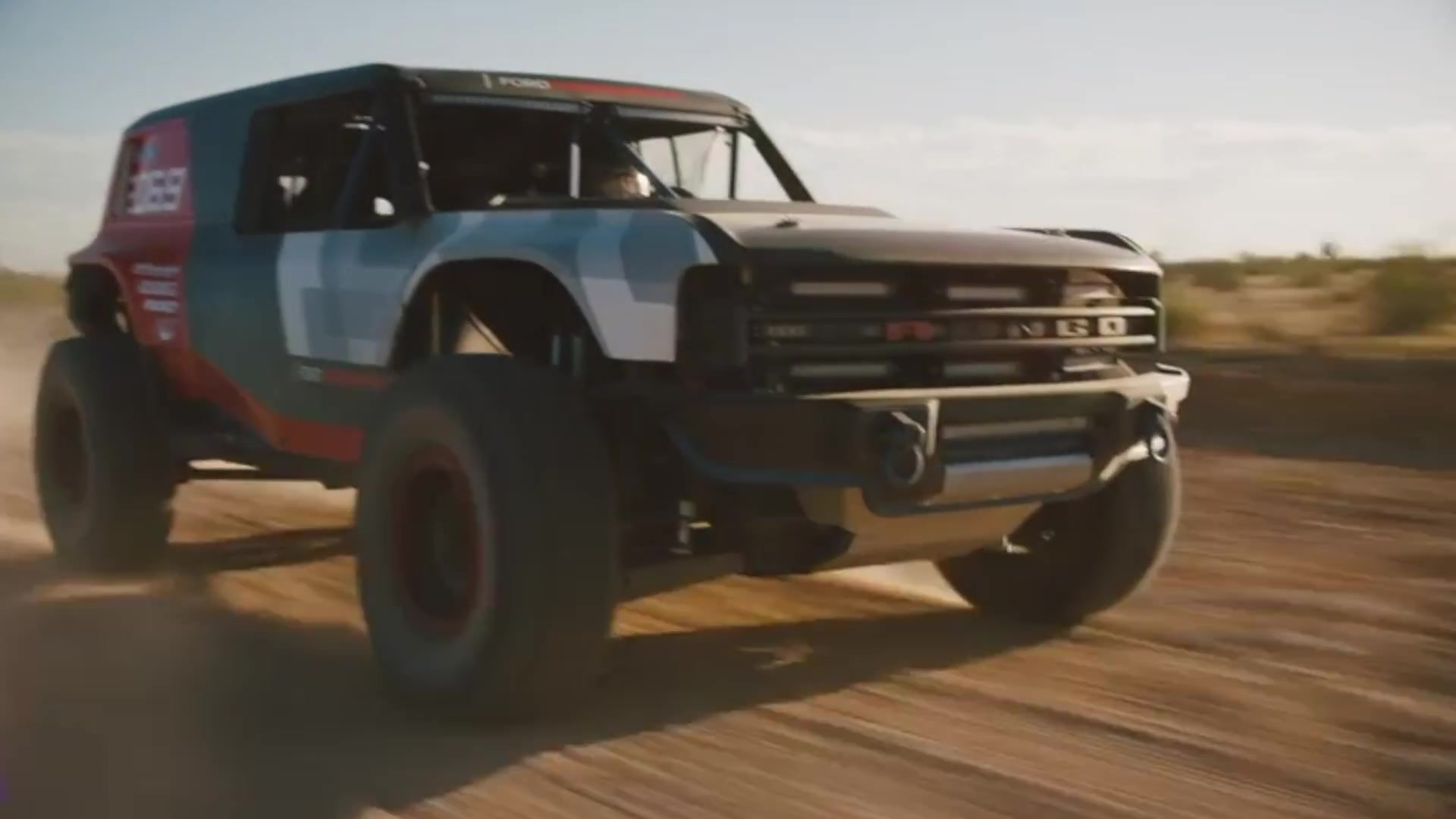 Ford Bronco R Race Prototype Preview