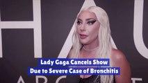 Lady Gaga Is Sick