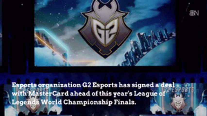 G2 Esports Announces Mastercard Deal