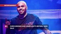 The Chris Brown Yard Sale