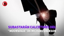 """Subastarán calcetines del """"Moonwalk"""" de Michael Jackson"""