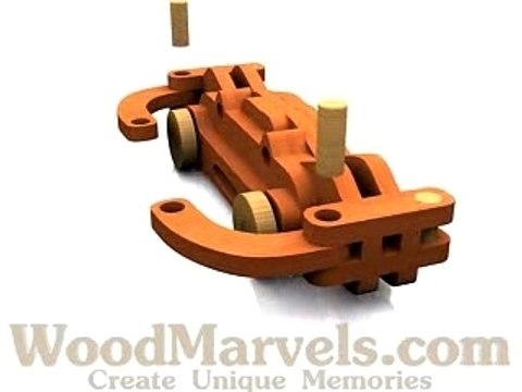 Build your own wooden Crab!