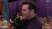 """Josh Gad Says Olaf Comes Out at Home When He's """"Surrounded by the Love of My Little Ladies"""""""