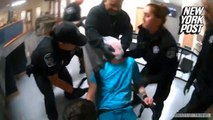 Shocking police video of woman being tased while restrained: lawsuit